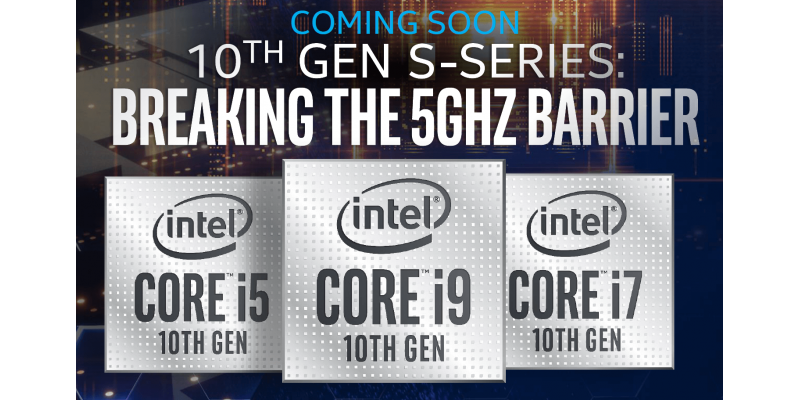 Intel's upcoming Comet Lake