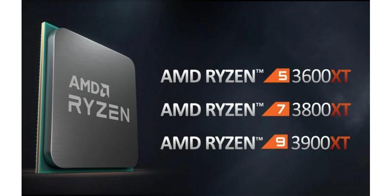 AMD 3600XT   3800XT   3900XT