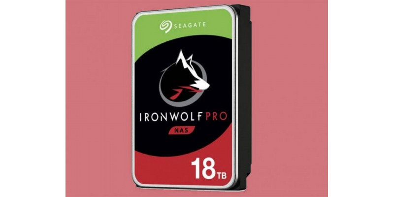 New 18TB Ironwolf Seagate
